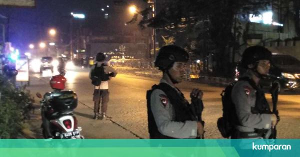 Rusuh Mako Brimob: 4 Polisi Alami Memar hingga Luka Sobek ...